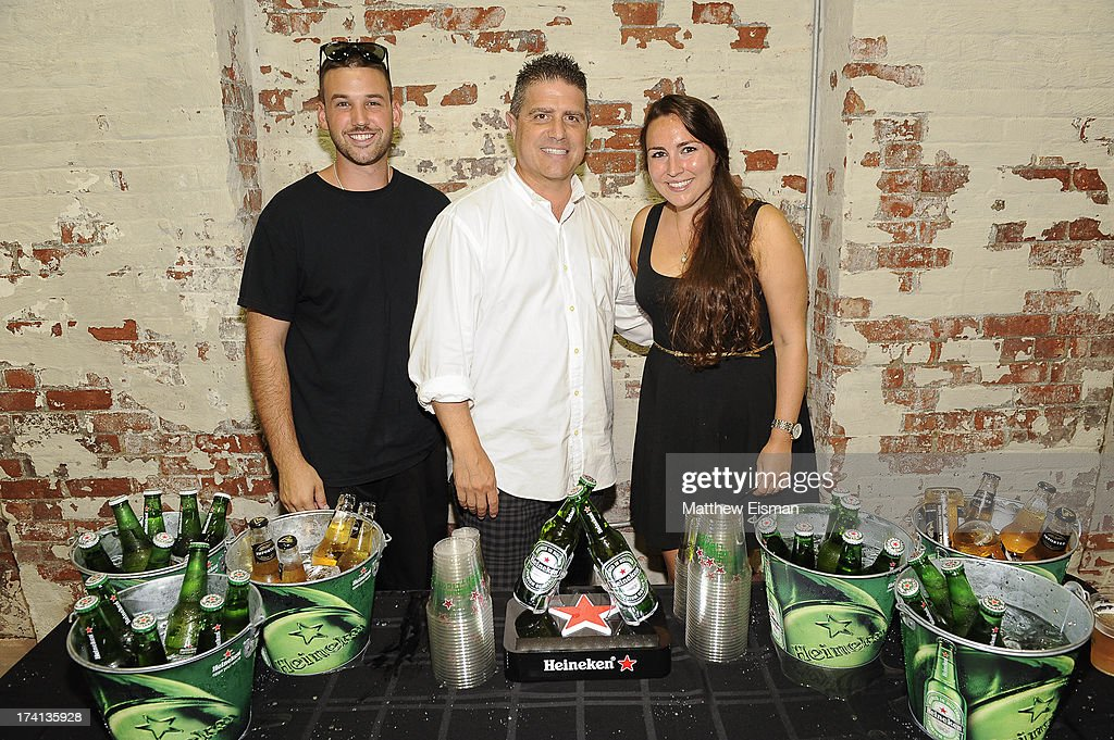 Rob Passaei (C) attends Hamptons Magazine celebrates an Evening of Banksy at Keszler Gallery on July 20, 2013 in Southampton, New York.