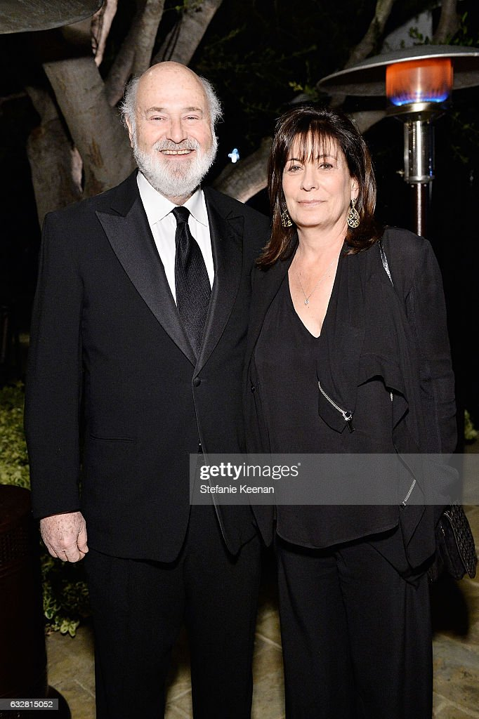 Rob Reiner and Michelle Reiner attend PSLA partners with Carolina Herrera for Winter Gala on January 26, 2017 in Beverly Hills, California.