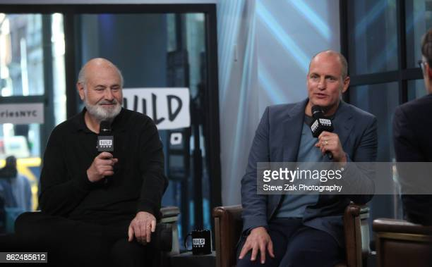 Rob Reiner and Woody Harrelson attends Build Series to discuss their new film 'LBJ' at Build Studio on October 17 2017 in New York City