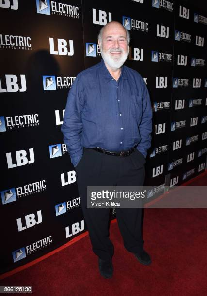Rob Reiner attends the Los Angeles Premiere of LBJ at ArcLight Hollywood on October 24 2017 in Hollywood California