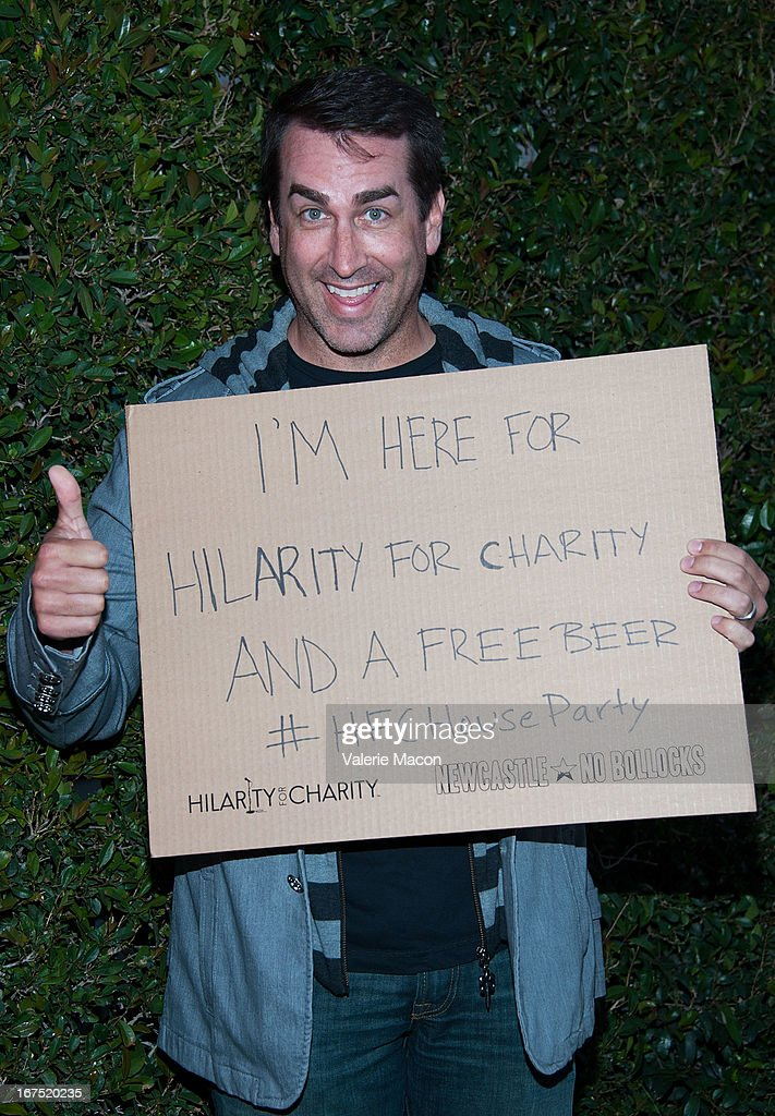 <a gi-track='captionPersonalityLinkClicked' href=/galleries/search?phrase=Rob+Riggle&family=editorial&specificpeople=2789494 ng-click='$event.stopPropagation()'>Rob Riggle</a> arrives at the 2nd Annual Hilarity for Charity Event at Avalon on April 25, 2013 in Hollywood, California.