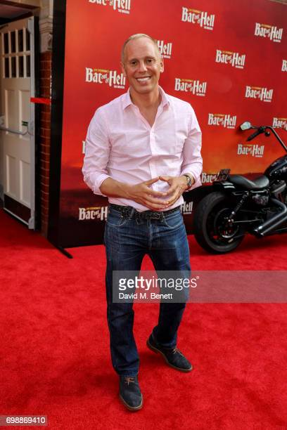 Rob Rinder attends the press night performance of 'Bat Out Of Hell The Musical' at The London Coliseum on June 20 2017 in London England