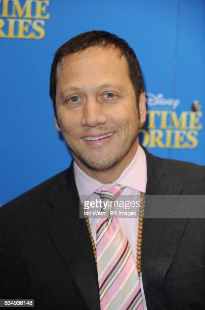 Rob Schneider arrives at the premiere of Bedtime Stories at the Odeon cinema in Kensington central London