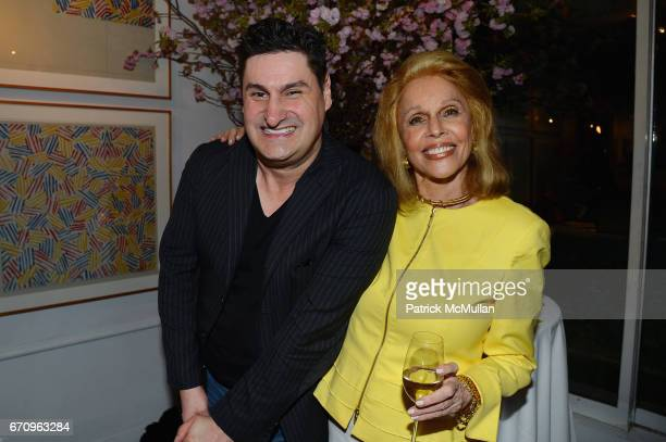 Rob Shuter and Susan Silver attend Susan Silver's Memoir Signing Celebration at Michael's on April 20 2017 in New York City