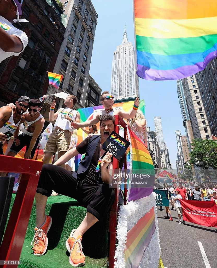 Rob Shuter attends the New York City Pride 2016 march on June 26, 2016 in New York Cit on June 26, 2016 in New York City.