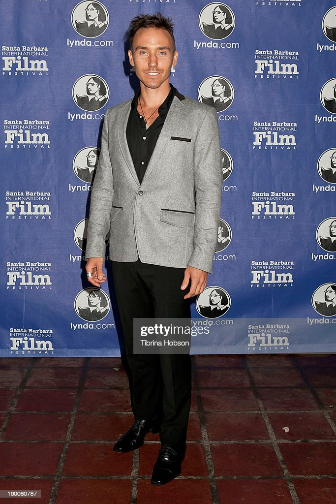Rob Stewart arrives to the 28th annual Santa Barbara International Film Festival's Modern Master Award Tribute honoring Ben Affleck at Arlington Theatre on January 25, 2013 in Santa Barbara, California.