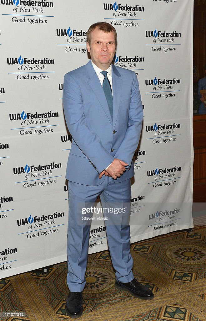 Rob Stringer, Chairman of the Columbia Records attends UJA-Federation Of New York Music Visionary Of The Year Award Luncheon at The Pierre Hotel on June 21, 2013 in New York City.