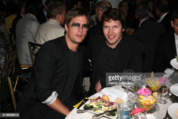 Rob Thomas and James Blunt attend UJAFEDERATION OF NEW YORK honors JULIE GREENWALD and CRAIG KALLMAN with The Music Visionary of the Year Award at...
