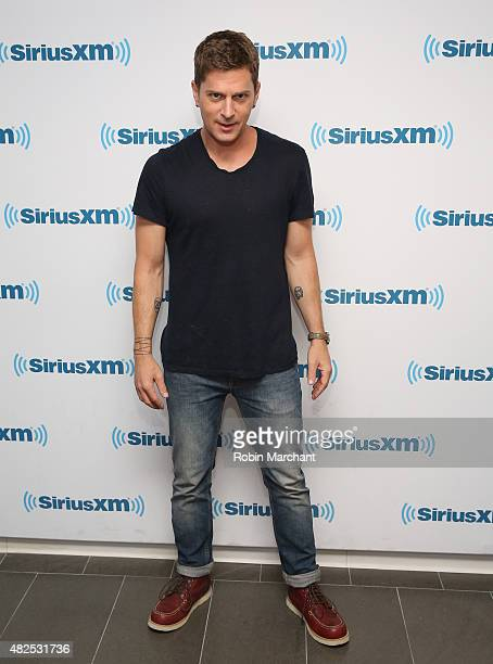 Rob Thomas at SiriusXM Studios on July 31 2015 in New York City