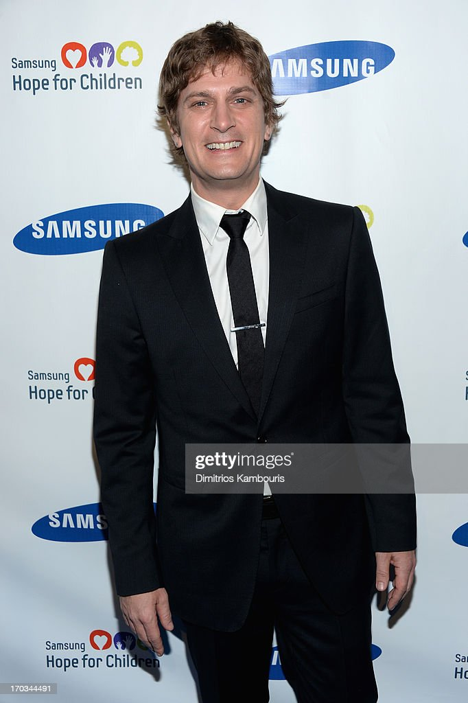 Rob Thomas attends the Samsung's Annual Hope for Children Gala at Cipriani's in Wall Street on June 11, 2013 in New York City.