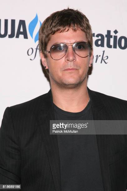 Rob Thomas attends UJAFEDERATION OF NEW YORK honors JULIE GREENWALD and CRAIG KALLMAN with The Music Visionary of the Year Award at The Pierre on...
