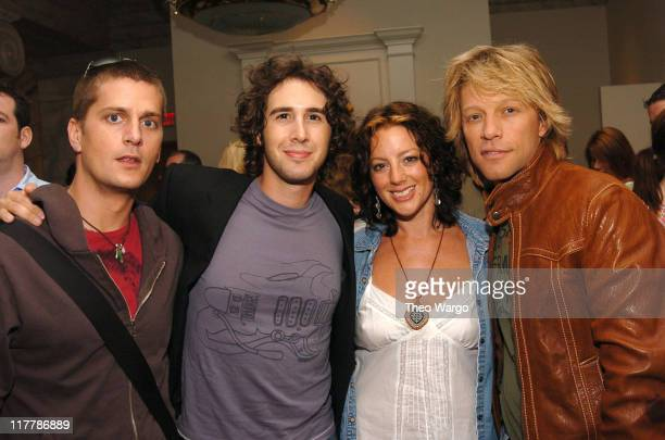 Rob Thomas Josh Groban Sarah McLachlan and Jon Bon Jovi