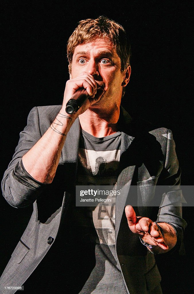 Rob Thomas of Matchbox Twenty performs at Nikon at Jones Beach Theater on August 17, 2013 in Wantagh, New York.