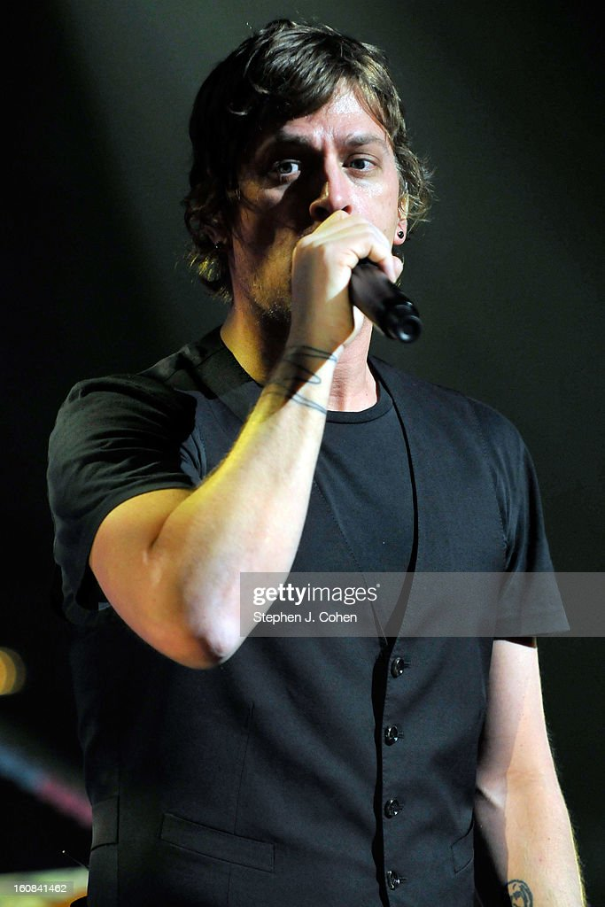 Rob Thomas of Matchbox Twenty performs at the Louisville Palace on February 5, 2013 in Louisville, Kentucky.