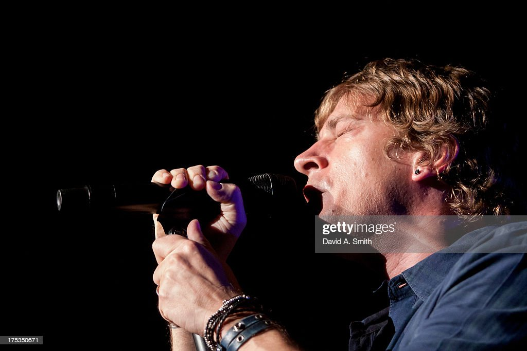 Rob Thomas of Matchbox Twenty performs at the Verizon Wireless Music Center on August 2, 2013 in Birmingham, Alabama.