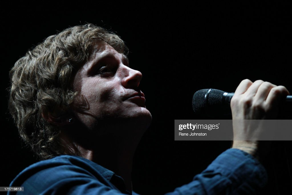 Rob Thomas of the 90s band Matchbox Twenty plays the Ontario Place to a sold out crowd.