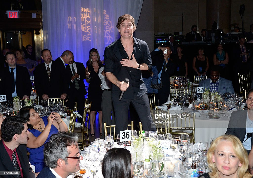Rob Thomas performs during the Samsung's Annual Hope for Children Gala at CiprianiÕs in Wall Street on June 11, 2013 in New York City.