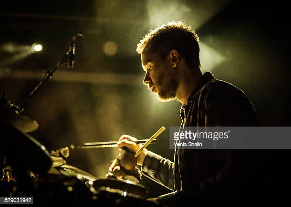 Rob Turner of Gogo Penguin performs at KOKO on May 5 2016 in London England