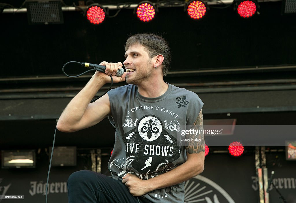 Rob Ulrich of Mindset Evolution performs during 2013 Rock On The Range at Columbus Crew Stadium on May 17, 2013 in Columbus, Ohio.