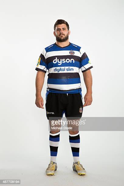 Rob Webber of Bath poses for a picture during the BT Photo Shoot at Farleigh House on August 28 2014 in Bath England