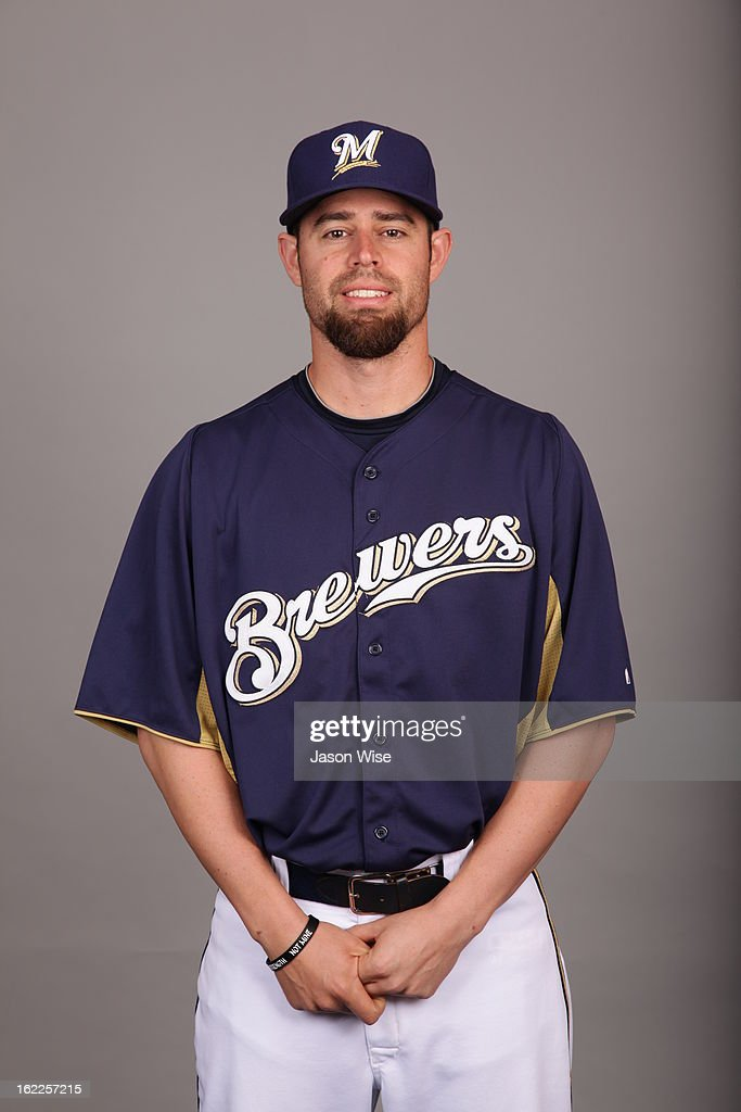 Rob Wooten #95 of the Milwaukee Brewers poses during Photo Day on February 17, 2013 at Maryvale Baseball Park in Phoenix, Arizona.
