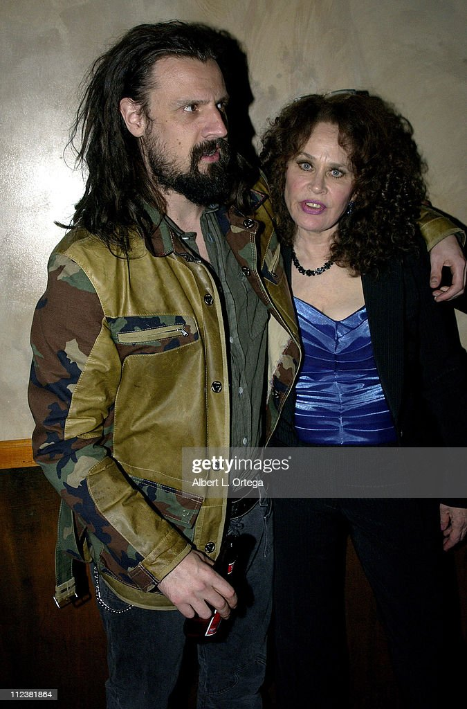 Rob Zombie and Karen Black during 'House of 1000 Corpses ' After Party at Las Palmas Night Club in Hollywood California United States