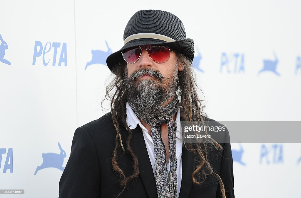 Rob Zombie attends PETA's 35th anniversary party at Hollywood Palladium on September 30 2015 in Los Angeles California