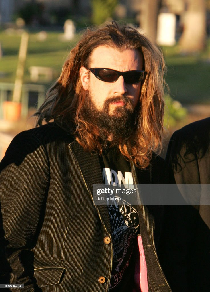 Rob Zombie during Johnny Ramone Immortalized with Statue at Hollywood Forever Cemetery at Hollywood Forever Cemetery in Hollywood California United...