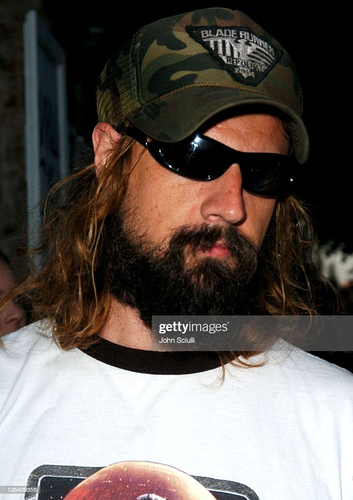 Rob Zombie during 'Open Water ' Los Angeles Premiere Red Carpet at Mann Festival Theater in Westwood California United States