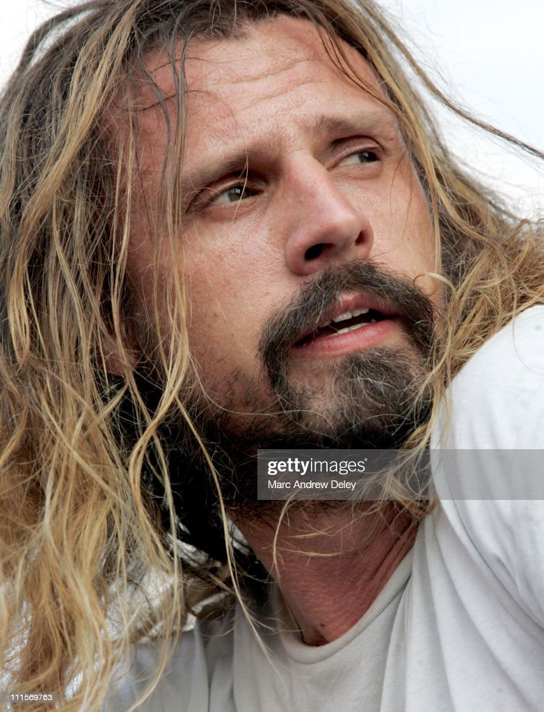 Rob Zombie during Ozzfest 2005 10th Anniversary Tour Opener Show July 15 2005 at Tweeter Center in Mansfield Massachusetts United States