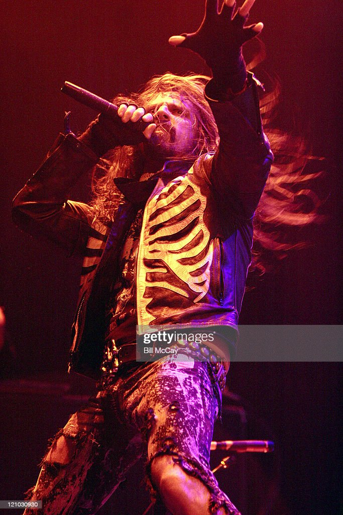 Rob Zombie during Rob Zombie In Concert at the Tweeter Center September 3 2006 at Tweeter Center in Camden New Jersey United States