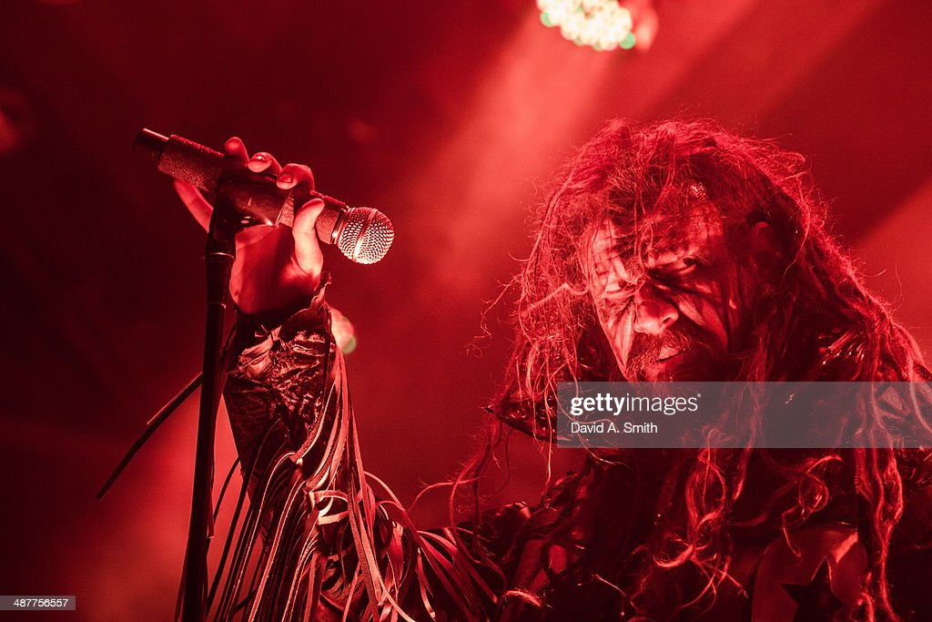 Rob Zombie performs at Iron City on May 1 2014 in Birmingham Alabama