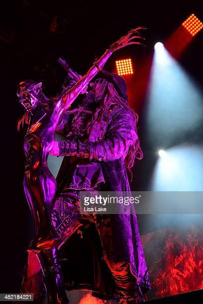 Rob Zombie performs at Sands Bethlehem Event Center on November 26 2013 in Bethlehem Pennsylvania