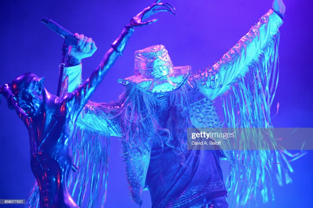 Rob Zombie performs live at Portsmouth Pavilion on October 5, 2017 in Portsmouth, Virginia.