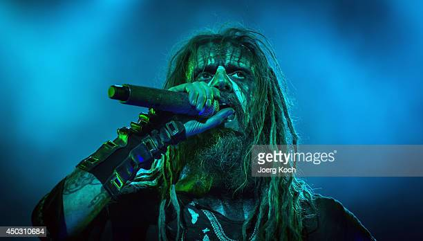 Rob Zombie performs on Alternastage during the third day of 'Rock im Park' at Zeppelinfeld on June 8 2014 in Nuremberg Germany