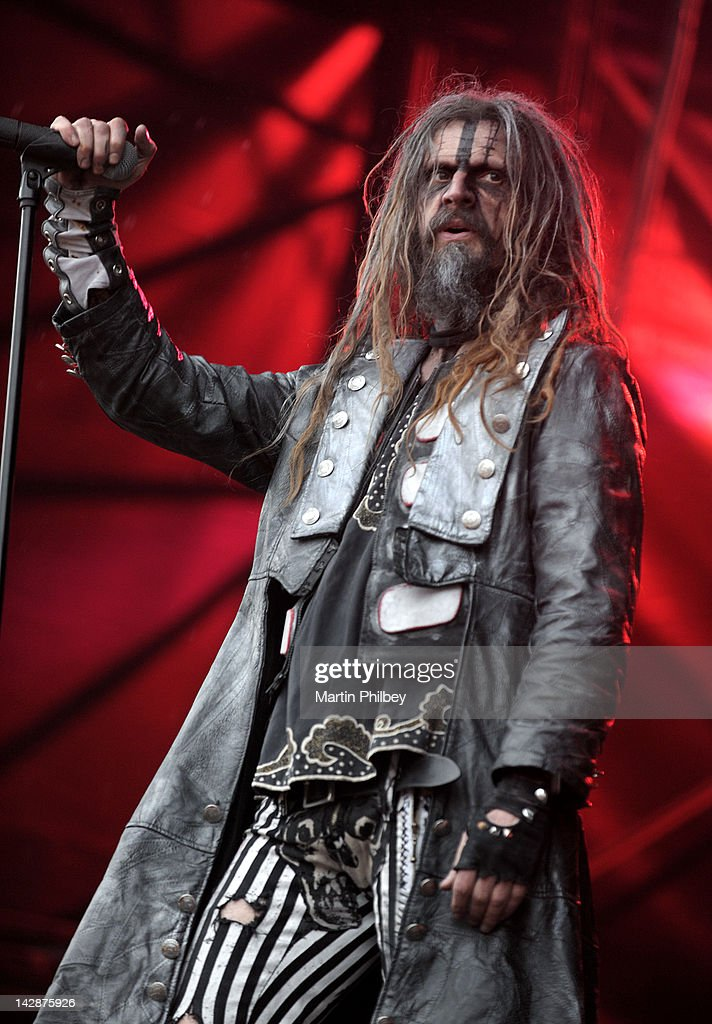 Rob Zombie performs on stage at the Soundwave Music Festival on March 4th 2011 in Melbourne Australia