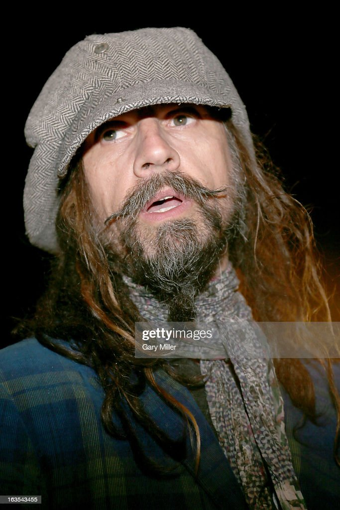 Rob Zombie poses on the red carpet at the Topfer Theater for the premiere of the new film 'Lords of Salem' during the South By Southwest Film...