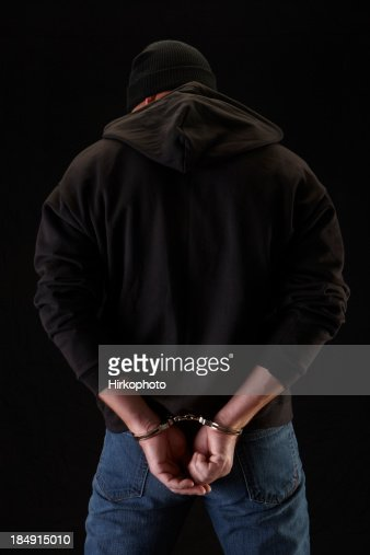 Robber on black