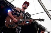 Robbie Arnett of Milo Greene performs at Longitude Festival at Marlay Park on July 21 2013 in Dublin Ireland