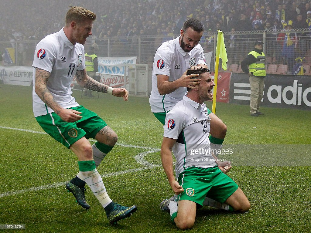 Bosnia and Herzegovina v Republic of Ireland - UEFA EURO 2016 Qualifier: Play-Off First Leg