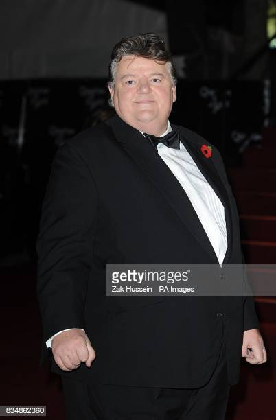 Robbie Coltrane arrives for the World premiere of 'Quantum Of Solace' at the Odeon Leicester Square WC2