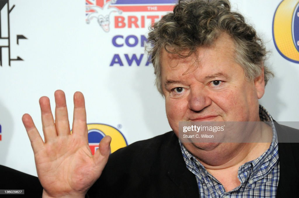 <a gi-track='captionPersonalityLinkClicked' href=/galleries/search?phrase=Robbie+Coltrane&family=editorial&specificpeople=644111 ng-click='$event.stopPropagation()'>Robbie Coltrane</a> attends the British Comedy Awards at Fountain Studios on December 16, 2011 in London, England.