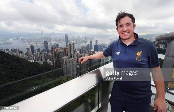 Robbie Fowler Legend of Liverpool at the Peak on July 21 2017 in Hong Kong Hong Kong