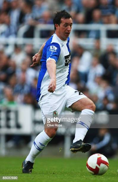 Robbie Fowler of Blackburn Rovers in action during the Barclays Premier league game between Newcastle United and Blackburn at St James' Park on...