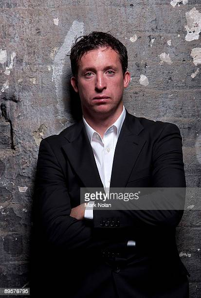 Robbie Fowler of North Queensland Fury poses for photos during a 2009/10 ALeague Season Launch portrait session at Carriageworks on August 3 2009 in...