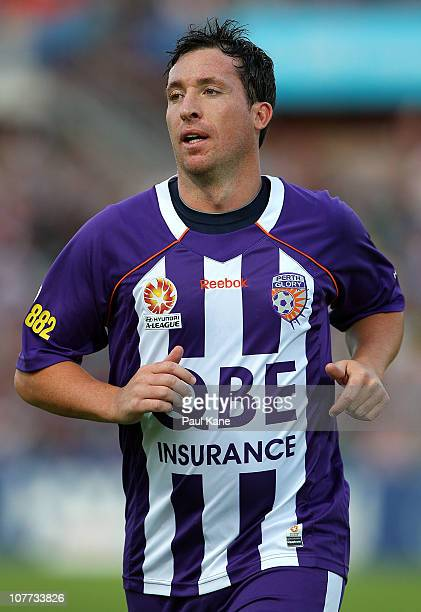 Robbie Fowler of the Glory looks on during the round 19 ALeague match between the Perth Glory and Adelaide United at nib Stadium on December 22 2010...