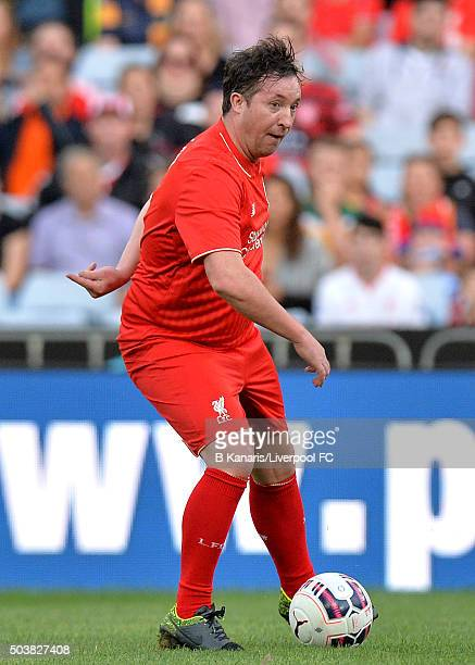 Robbie Fowler of the Liverpool Legends in action during the match between Liverpool FC Legends and the Australian Legends at ANZ Stadium on January 7...