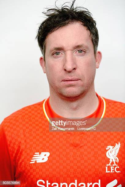 Robbie Fowler poses during a portrait session on January 6 2016 in Sydney Australia