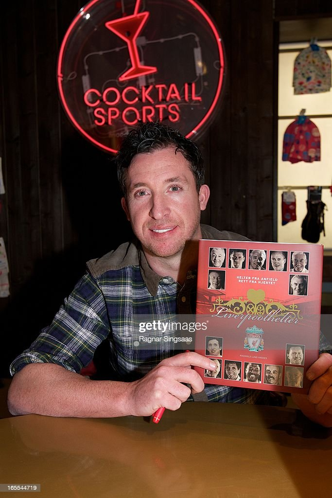 Robbie Fowler Attends The Launch Of Moods Of Norway