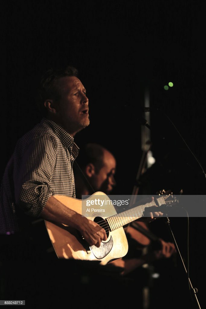 Robbie Fulks opens when A.J. Croce performs at City Winery on August 16, 2017 in New York City.